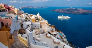 Santorini with Ron Largent